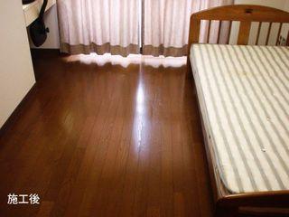 床フローリング施工後